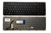 Клавиатура для ноутбука  HP 15-0000 11666 HP41 Black RU