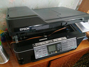 Продам МФУ А3 формата Epson WF-7510 с СНПЧ МФУ (принтер/сканер/копир/ф